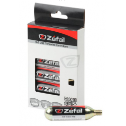 ZEFAL 6 CARTUCHOS CO2 CON ROSCA